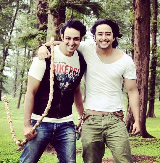 Saurabh Raj Jain and Shaheer Sheikh