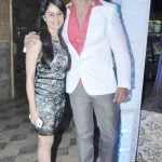 Saurabh Raj Jain with his wife