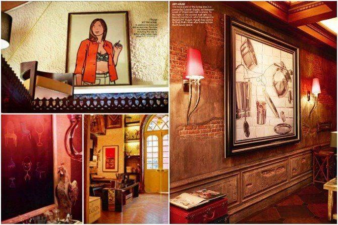 Shah Rukh Khan Mannat interiors