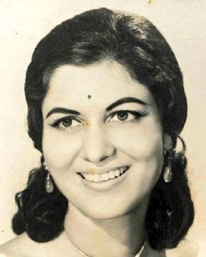 Shashikala in her younger days