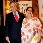 Shiv khera with his wife