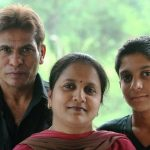 Sitaram Panchal with his wife and son