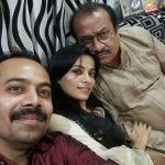 Sonal Parihar with Father and Brother