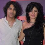 Sonal Sehgal with husband