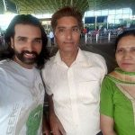 Soneer Vadhera with his parents