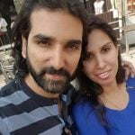 Soneer Vadhera with his sister Zinnia