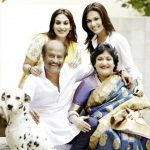 Soundarya Rajinikanth with her family