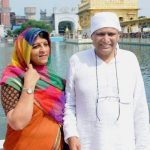 Suresh Prabhu With His Wife