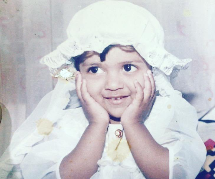 Swarda Thigale in Her Childhood