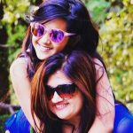 Sweety Walia with her daughter Roshni Walia