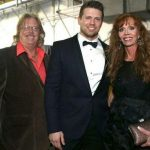 The Miz with his parents