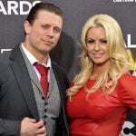 The Miz with his wife Maryse