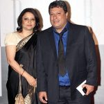 Tigmanshu Dhulia with his wife
