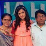 Tonushree Chakraborty parents