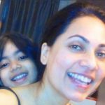 Tuhina Vohra with her daughter Raayah