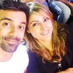 Urvashi with Anuj