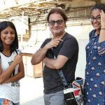 Vinay Pathak With His Daughters
