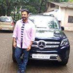 Vivek Oberoi Mercedes-Benz-GLS