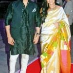 Vivek Oberoi with his wife