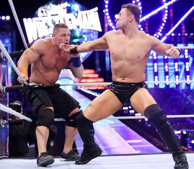 Wrestler The Miz