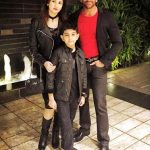 Aarav Choudhary with his wife and son