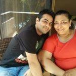 Abha Parmar with son
