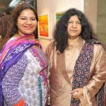 Abida Parveen With Her Daughter Mariam Parveen