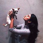 Alaviaa Jaaferi - a dog lover