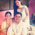 Alice Kaushik with parents