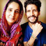Amardeep Singh Natt with his sister