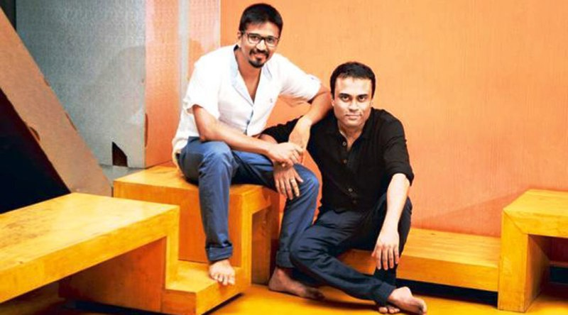 Amitabh Bhattacharya With Amit Trivedi