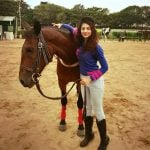 Ananya Sengupta - Horse Riding