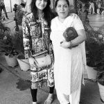 Ankita Bahuguna with her mother