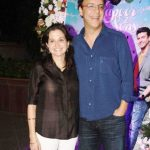 Anupama Chopra with her husband Vidhu Vinod Chopra
