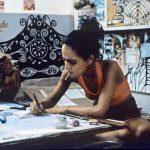 Arundhati Roy Smoking