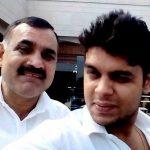 Ashish Kadian father and brother