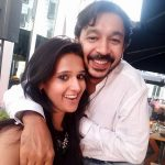 Astha Aggarwal with her husband
