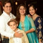 Jannat Zubair Rahmani with her family