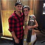 Bayley with boyfriend Aaron Solow