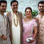 Bharat Takhtani With Family
