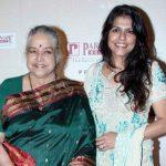 Bhavana Balsavarwith mother