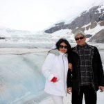 Bibek Debroy With His Wife