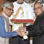 Bibek Debroy With Padma Shri