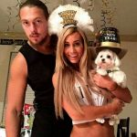 Carmela with boyfriend Big Cass