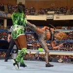 Carmella Superkick finisher