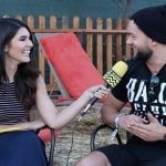 Cathy Kelley with boyfriend Finn Balor