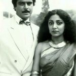Deepti Naval with Marc Zuber