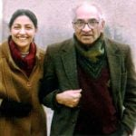 Deepti Naval with her father