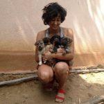 Divyanka Bedi - a dog lover