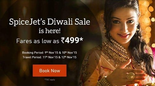 Donal Bisht on a SpiceJet advertisement